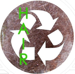 100% hair recycled with Green Circle Salons