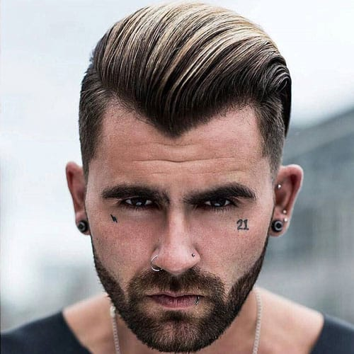 Men's Hair Colour Highlights or Lowlights