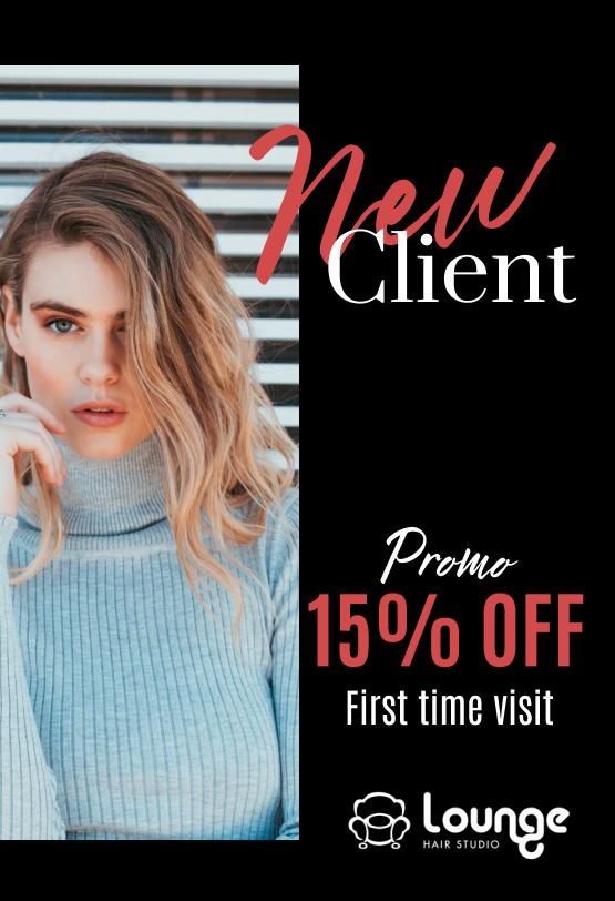 New Client's - Double Rewards and 15% off your first visit